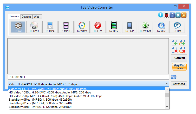 FSS Video Converter