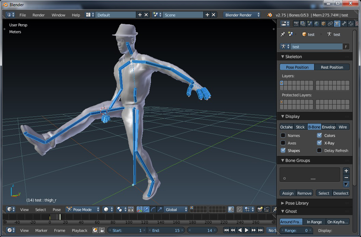 Blender 2.79 программа для создания 3D графики