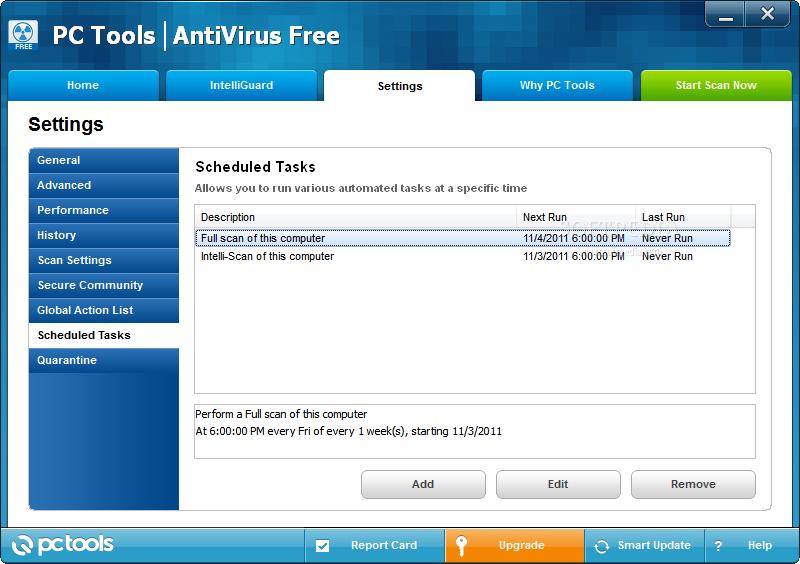 PC Tools AntiVirus Free 9.1.0.2900