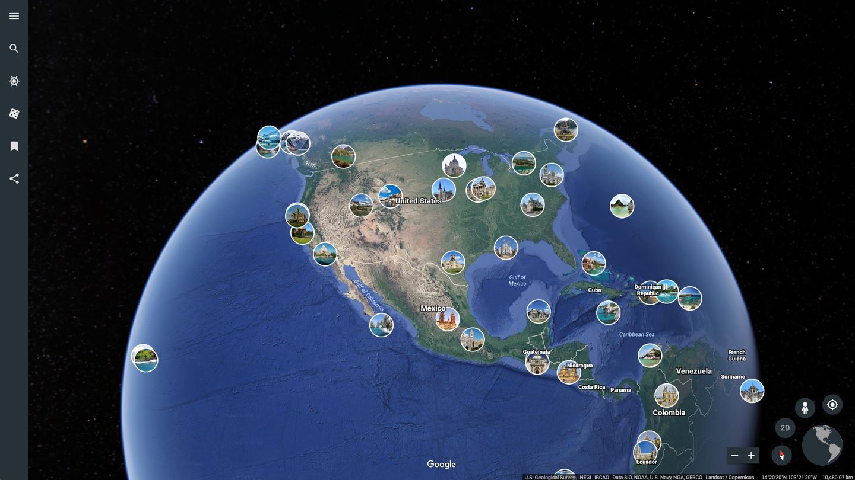 Google Earth скачать бесплатно (Гугл Земля)