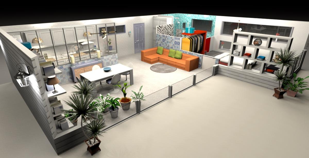 Sweet Home 3D 6.1.2 скачать бесплатно проектировщик интерьеров
