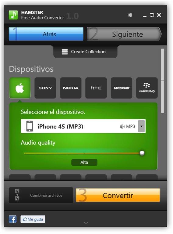 Скачать Hamster Free Audio Converter 2.0