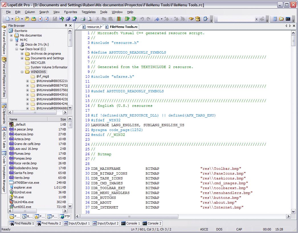 LopeEdit 5.8 — текстовый редактор