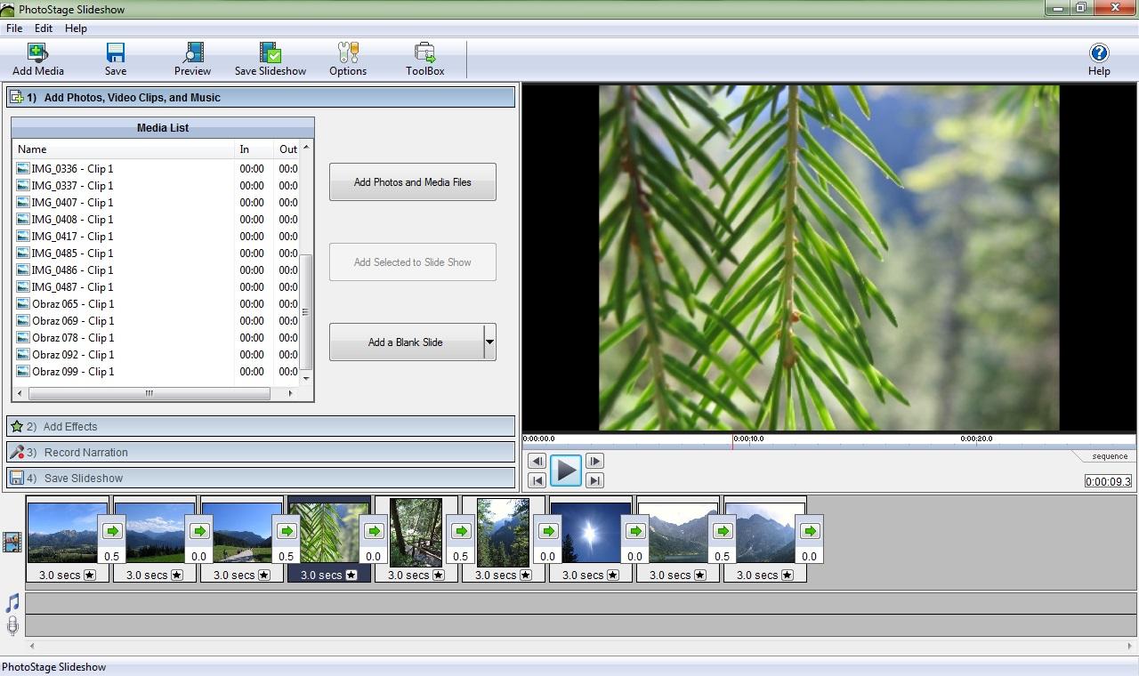 PhotoStage Slideshow 3.37 Free