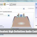 Realtek High Definition Audio Codecs