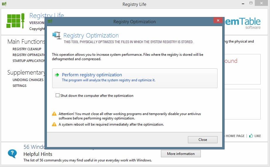 Registry Life 4.22