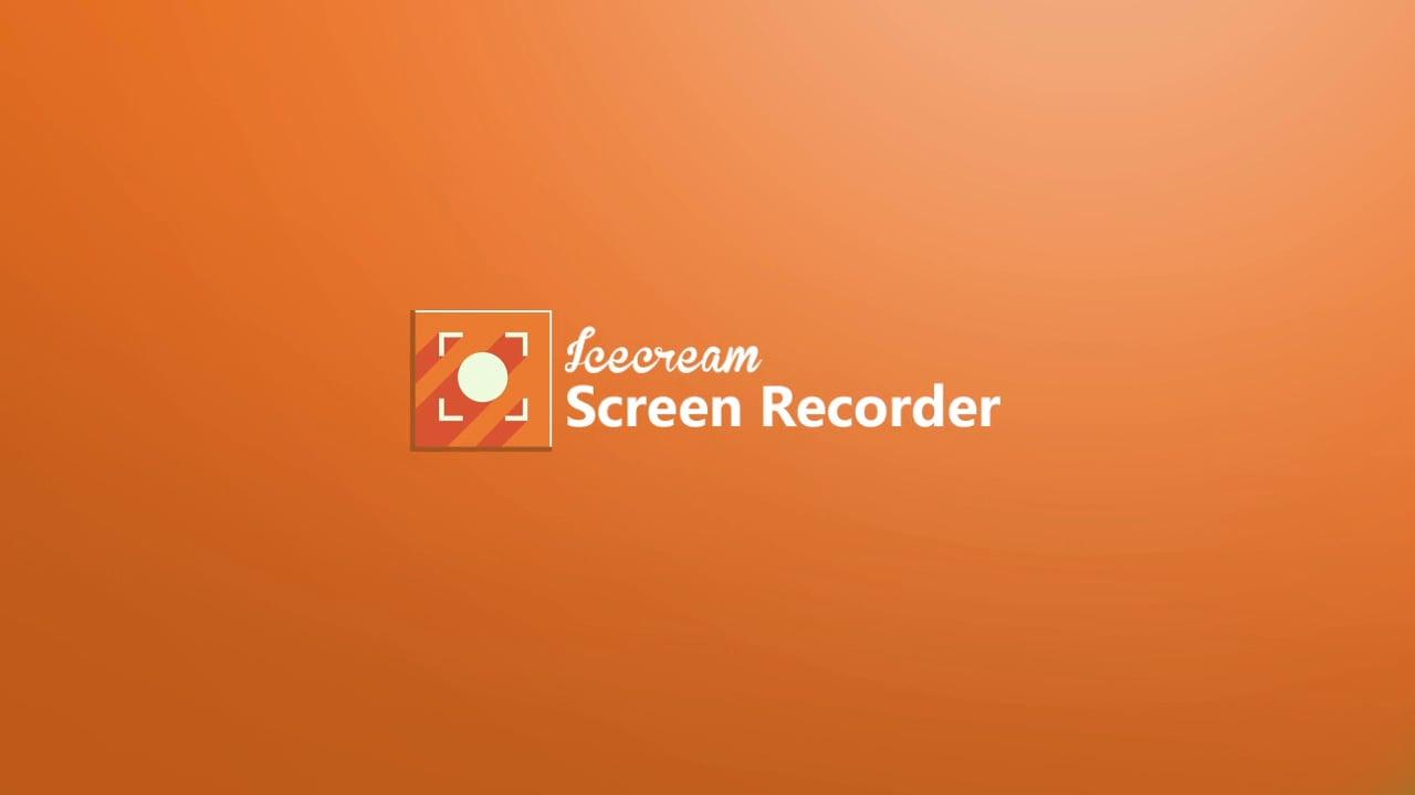 IceCream Screen Recorder 5.92 программа для записи видео с экрана монитора скачать бесплатно