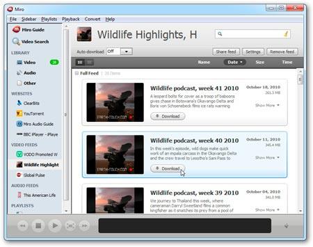 Miro 6.0 убийца iTunes